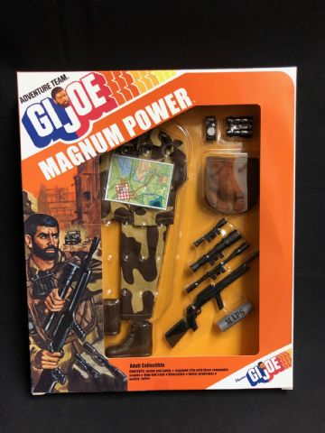 GI JOE - MAGNUM POWER - GI JOE COLLECTORS CLUB ISSUE